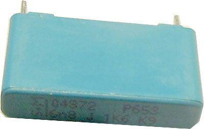 6n8/1600V S+M /~TC343/, svitkový kondenzátor radiální
