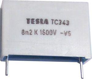 8n2/1500V TC343, svitkový kondenzátor impulsní