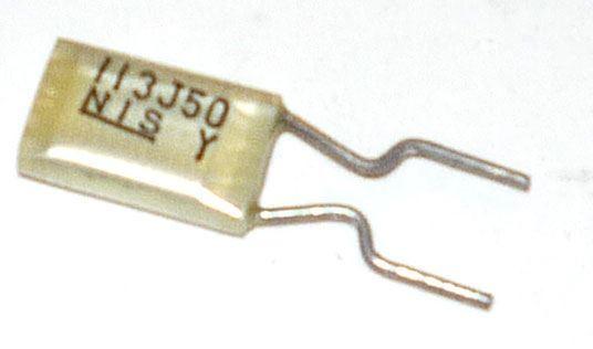 10n/50V MKT, RM=5, svitkový kondenzátor radiální