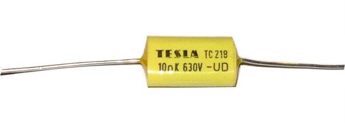 10n/630V TC218, svitkový kondenzátor