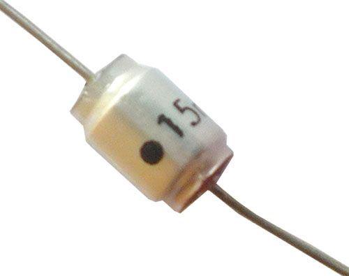 15n/160V TGL38159, svitkový kondenzátor axiální