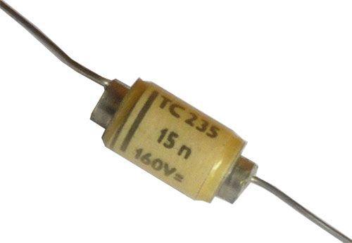 15n/160V TC235, svitkový kondenzátor axiální