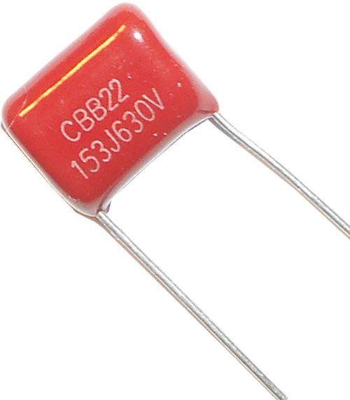 15n/630V CBB22, svitkový kondenzátor polypropylen