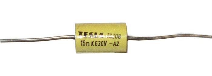 15n/630V TC208, svitkový kondenzátor
