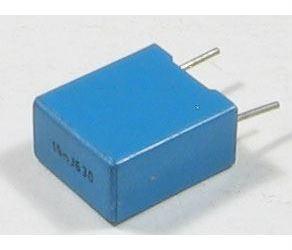 15n/630V TC356, svitkový kondenzátor radiální, RM=7,5mm