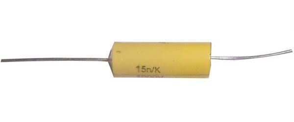 15n/1000V MKTA /~TC209/ svitkový kondenzátor axiální