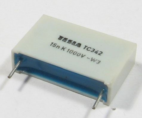 15n/1000V TC342 svitkový kondenzátor impulsní
