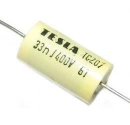 33n/400V TC207, svitkový kondenzátor