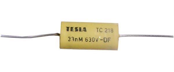 33n/630V TC208 /TC218/, svitkový kondenzátor