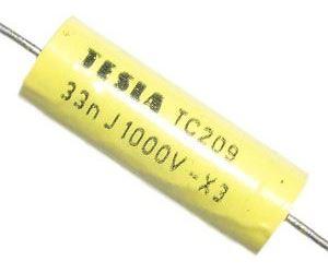 33n/1000V TC209, svitkový kondenzátor