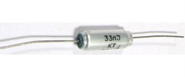 33n/250V TGL38159, svitkový kondenzátor