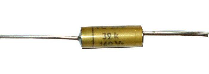39n/160V TC279, svitkový kondenzátor