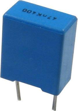 47n/400V TC355, svitkový kondenzátor radiální RM=7,5mm