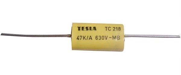 47n/630V TC218, svitkový kondenzátor axiální