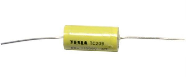 68n/1000V TC209, svitkový kondenzátor