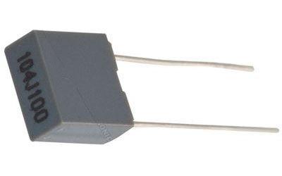 100n/100V CF2 /~TC351/ svitkový kondenzátor radiální RM5