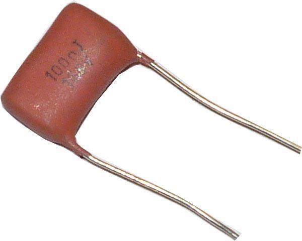 100n/160V MPT96, RM=10, svitkový kondenzátor