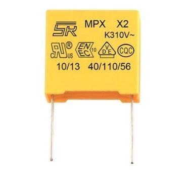 100n/310V CFAC, foliový kondenzátor (pro odrušení poblikávajících LED)