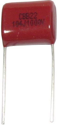 100n/1000V CBB22, svitkový kondenzátor polypropylen