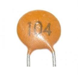 100n/25V SUNTAN RM=2,54, keramický kondenzátor