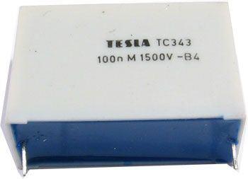 100n/1500V TC343,  svitkový kondenzátor impulsní
