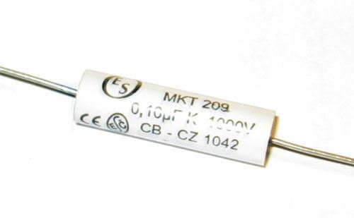 100n/1000V MKT209 /TC209/, svitkový kondenzátor axiální r.v.2018