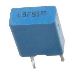 150n/63V TC350, svitkový kondenzátor radiální RM=5mm