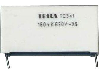 150n/630V TC341, svitkový kondenzátor impulsní
