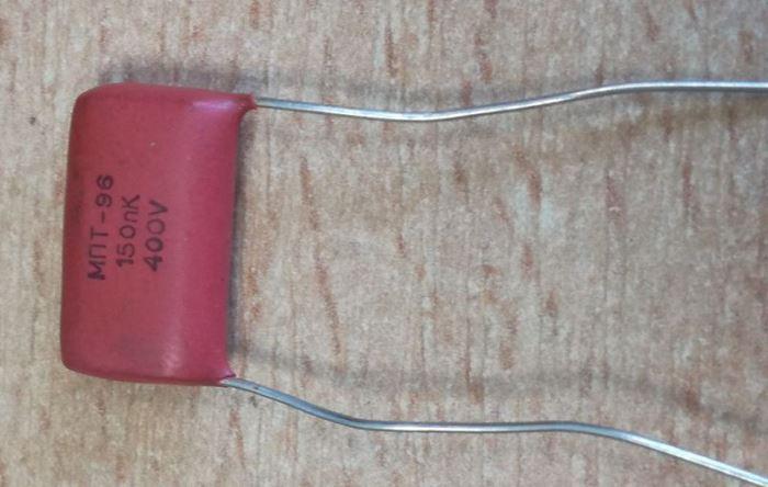 150n/400V MPT96, RM=15, svitkový kondenzátor