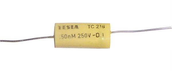 150n/250V TC206 /TC216/, svitkový kondenzátor