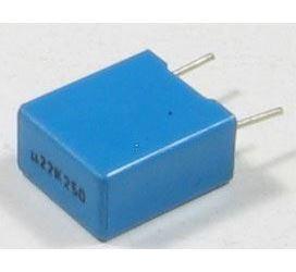 220n/250V TC354, svitkový kondenzátor radiální, RM=10mm