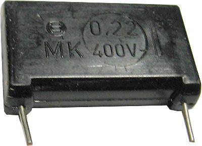 220n/400V MK, svitkový kondenzátor radiální
