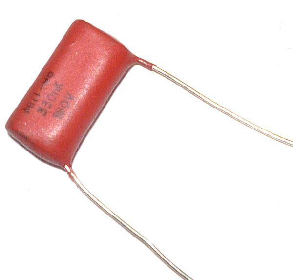 330n/160V MPT96, svitkový kondenzátor