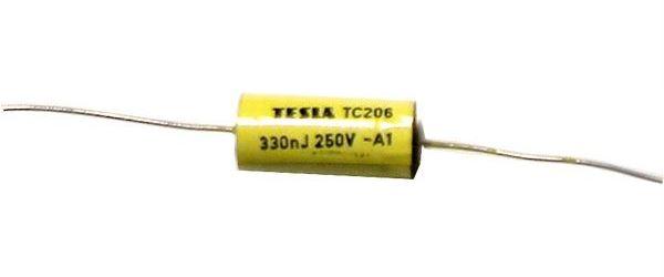 330n/250V TC206, svitkový kondenzátor