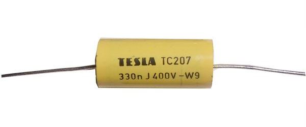 330n/400V TC207, svitkový kondenzátor
