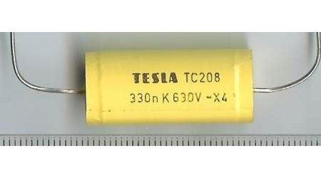 330n/630V TC208, svitkový kondenzátor