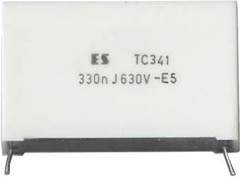 330n/630V TC341, svitkový kondenzátor impulsní