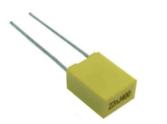 470n/63V MKT, svitkový kondenzátor radiální, RM 5mm
