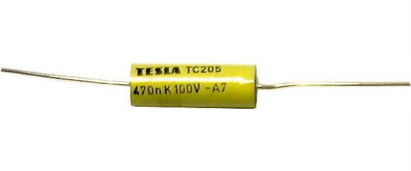 470n/100V TC205, svitkový kondenzátor