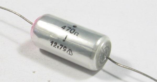 470n/160V TGL38159, svitkový kondenzátor