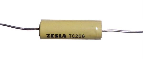 470n/250V TC206, svitkový kondenzátor