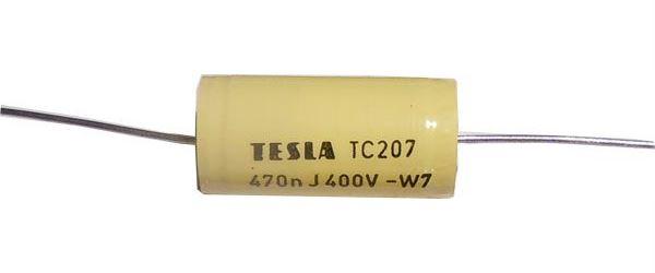 470n/400V TC207, svitkový kondenzátor