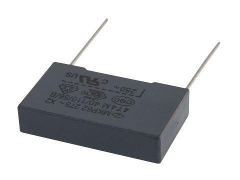 470n/275V CFAC, svitkový kondenzátor X2