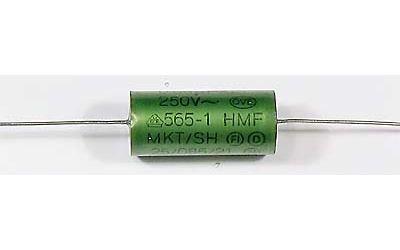 680n/250VAC ERO, svitkový kondenzátor axiální 14x30mm