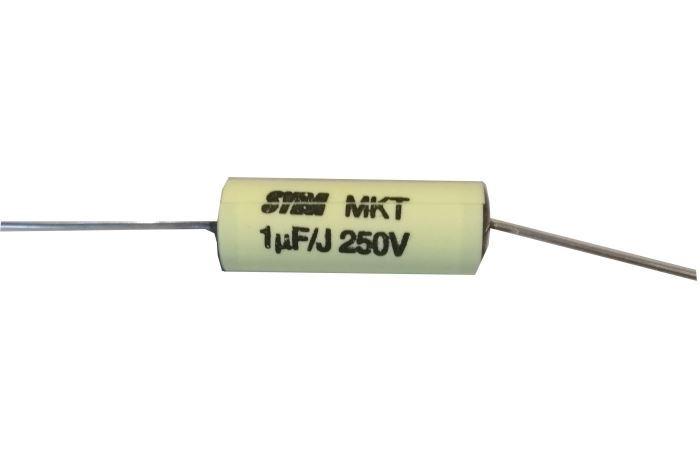 1u/250V MKT SYBA svitkový kondenzátor, náhrada za TC206