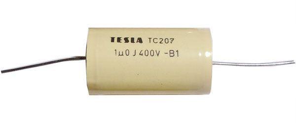 1u/400V TC207, svitkový kondenzátor