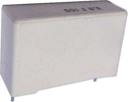 3u9/100V /~TC330/, svitkový kondenzátor
