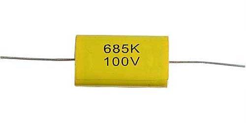 6u8/100V MKTA /~TC206/, svitkový kondenzátor