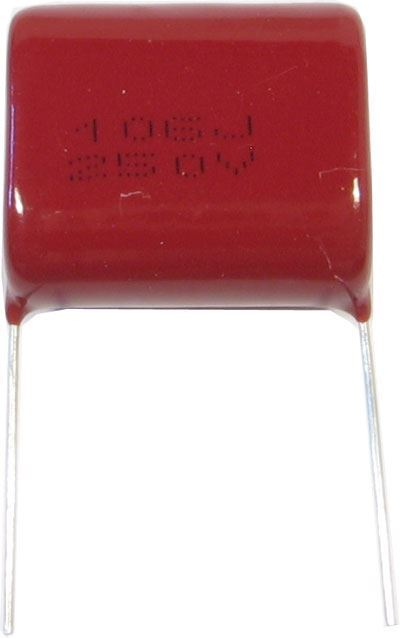 10u/250V CL21, svitkový kondenzátor polyester