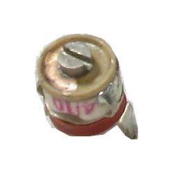 Kapacitní trimr CT/0071, 4-10pF keramický, průměr 7mm
